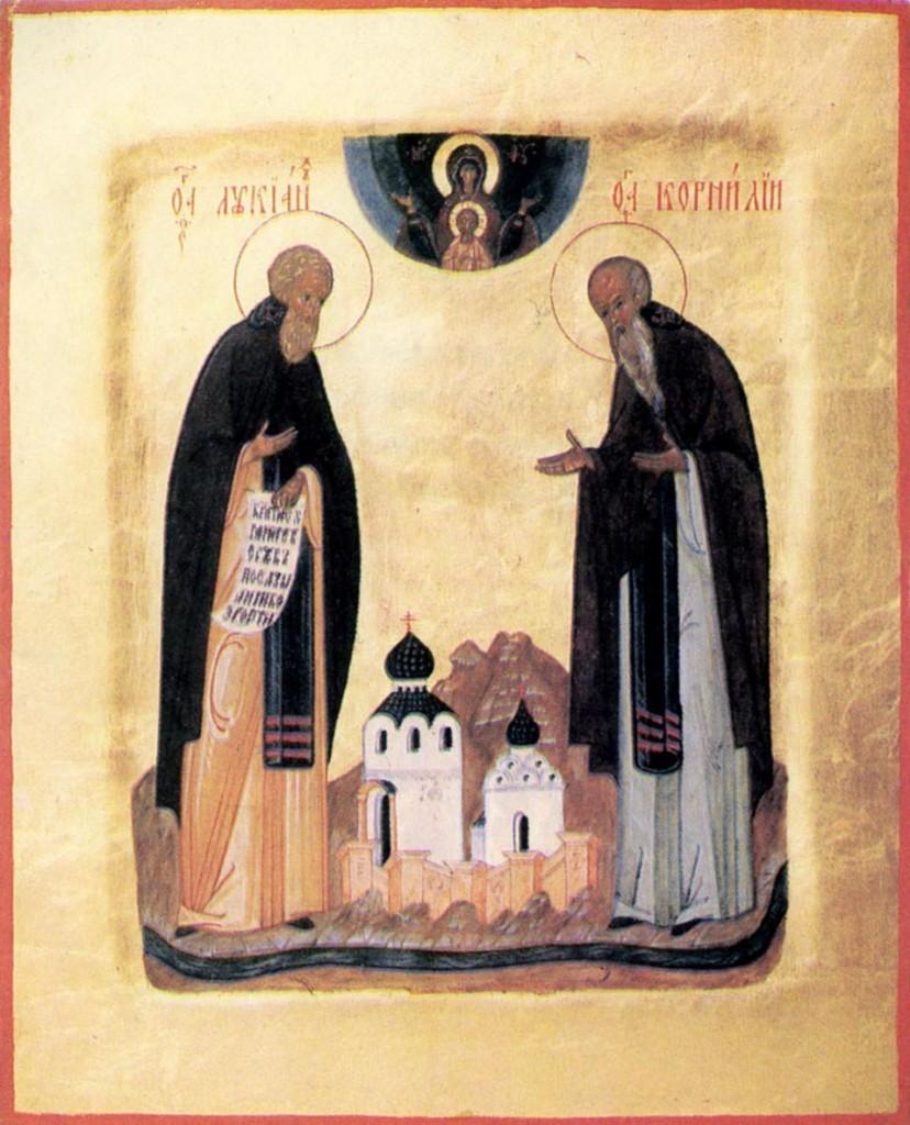 Лукианова пустынь, Лукиан и Корнилий Александровские