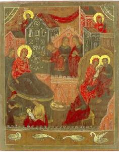 Лукианова пустынь, икона Рождества Богородицы Лукиановская