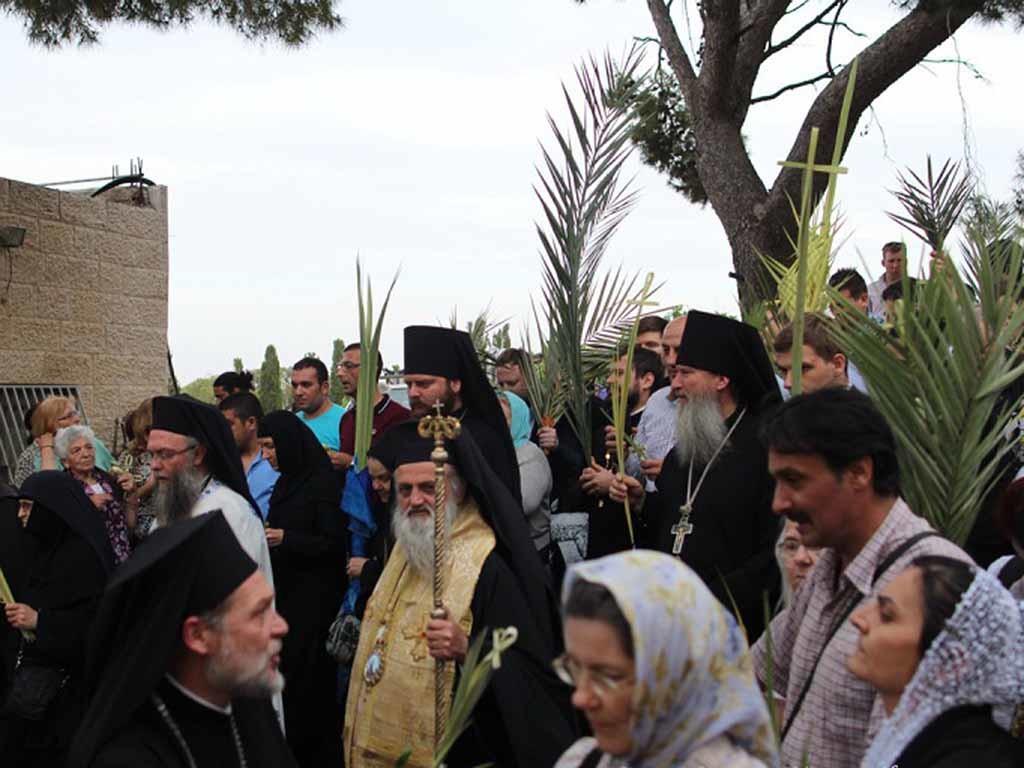 Крестный ход в Иерусалиме